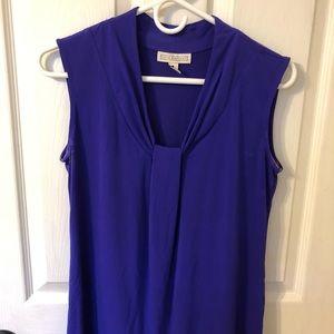 Dana Buchman purple knit top